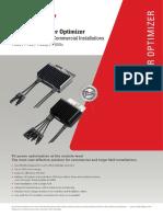 Datasheet P700 Power Optimizer