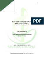 Revista de Musicoterapia ANO XVII NÚMERO 19 2015 Completa