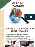 la-20-c3-89tica-20en-20la-20investigaci-c3-93n-131203211558-phpapp01