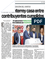 24-03-18 Rifa Monterrey casa entre  contribuyentes cumplidos