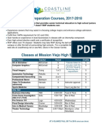 ROP Fall Classes Flyer