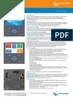 Datasheet Color Control GX FR