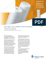 Pentek DGD Series Product Profile 310061 L