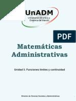 Matemáticas 3 Contenido