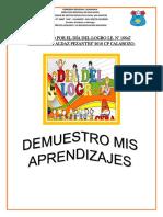 Proyecto Dia Del Logro 2018