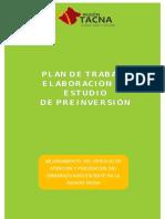 Plan de Trabajo Embarazo Adolescente 2017