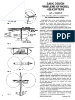 Basic Design Problems of Model Helicopters