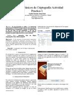 IEEE Actividad 2 unad Criptografia