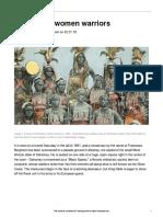 Smi Dahomey Africa Women Warriors 40648 Article Only