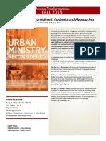 Urban Min Vol Cover Advert