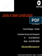 Joints in Steel Construction