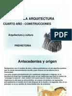 prehistoria de la arquitectura