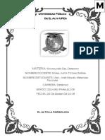 Sociologia Del Deecho