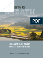 LORA-WAINWRIGHT, Anna. Fighting for Breath - Living Morally and Dying of Cancer in a Chinese Village