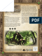 Return to Mirkwood Rulesheet