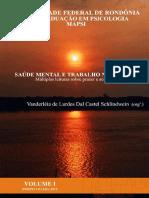 Livro Saúde Mental e Trabalho Na Amazônia
