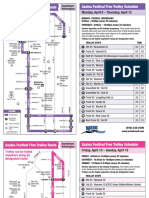 WAVE Azalea Festival Free Trolley Route