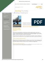 Reducing Runway Landing Overruns