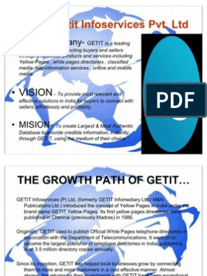 Brief Ppt- Getit | E Commerce | Advertising
