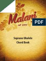Malani Ukuleles Chord Book