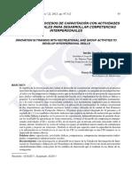 Innovación en Los Procesos de Capacitación Fajardo (2012)