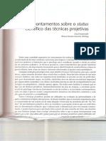 Apontamentos Sobre o Status Científico Das Técnicas Projetivas - WERLANG,2011