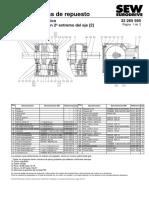 Reductor Trasl Delantero CV06K127A Ratio 40.19