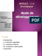 Mode de Développement1