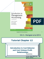 Tutorial Chapter 12 Cost Behaviour and Measurement of Costs.ppt