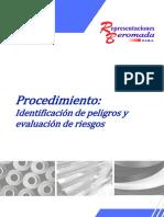 RB-GSST-P02-00 Identificación de Peligros y Evaluación de Riesgos