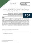 Carbon Footprint on Fuel, Bhandari Et Al., 2013