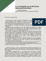 Derecho y el Estado en la Doctrina NacionalSocialista - Bonnard, Roger.pdf