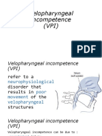 Velopharyngeal Incompetence