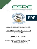 Control PID de productos molidos