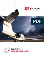 Baron Weather API Brochure