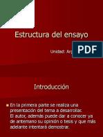 Estructura Del Ensayo