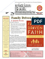 Family Driven Faith Book Summary