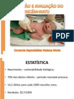 4 º AULA - Recepção e avaliação do recém-nato.pptx