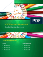 byot classroom management plan