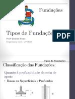 Aula 2 - Tipos de Fundações Diretas