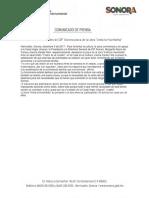 """03/12/17 Develan autoridades de DIF Sonora placa de la obra """"Anita la Huerfanita"""". - C.121713"""