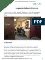 """Noam Chomsky_ """"as Pessoas Já Não Acreditam Nos Fatos"""" _ Cultura _ EL PAÍS Brasil"""