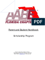 2018 AABE-FL Scholarship Handbook Application - Final