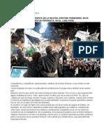 Palabras de CFK en el ENCUENTRO CON LAS JUVENTUDES POLÍTICAS