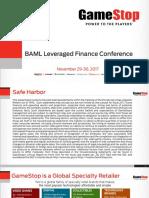 BAML GME Leveraged Fin. Conference ( Final Draft v2)