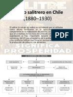 El Ciclo Salitrero en Chile