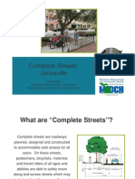 Jonesville Complete Streets Presentation