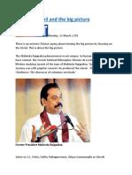 Mahinda, Ranil and the big picture.docx