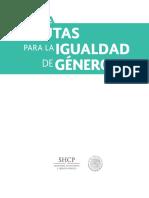 Guia Pautas Para La Igualdad de Genero SHCP