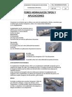 Conectores Hidraulicos Tipos y Aplicaciones